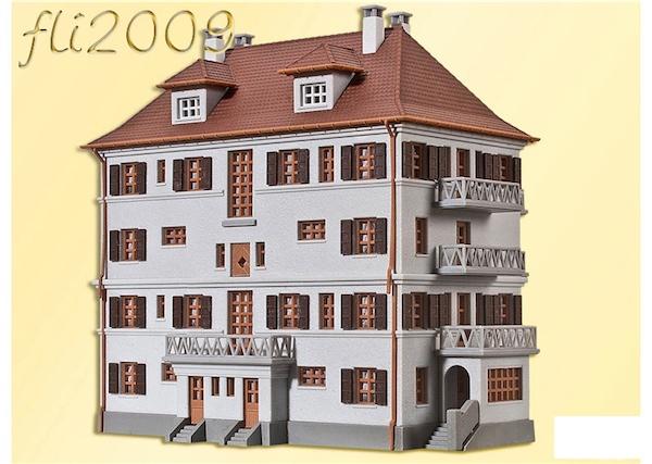 Kibri scala n 7170 palazzo 4 piani condominio con for Palazzo a 4 piani